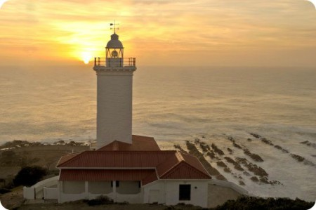 Mossel Bay Lighthouse - Popular Holiday Destination