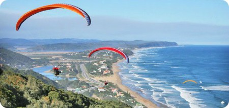 See the Wilderness from high up in the sky and experience the thrill of handgliding and paragliding.