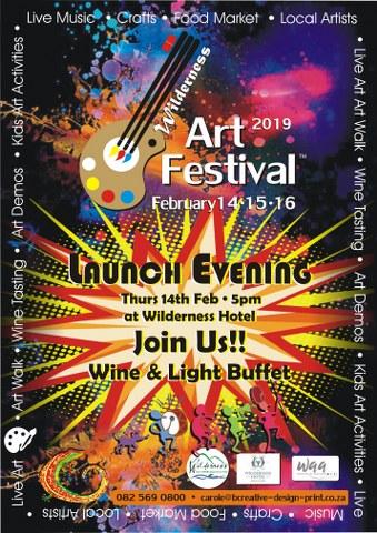Wilderness Art Festival Wine and Light Buffet