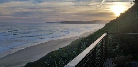 Beach view from Luxury Wilderness Villa
