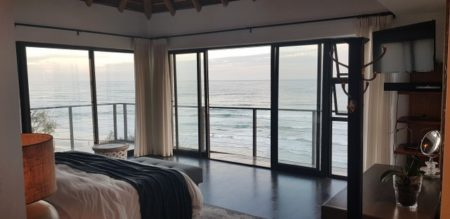 View from the bedroom at Azure Villa Wilderness